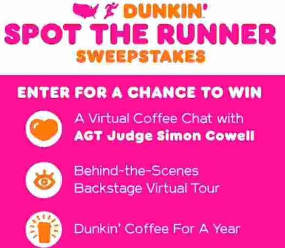 NBC-Dunkin-Spot-The-Runner-Sweepstakes
