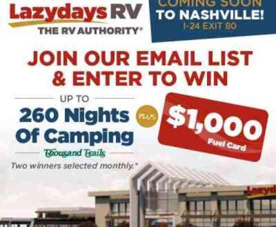 Lazydays-RV-Camping-Nashville-Sweepstakes