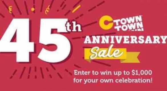 CTownSupermarkets-Anniversary-Sweepstakes