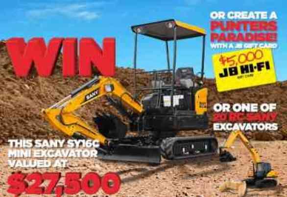 SanyAustralia-Excavator-Competition