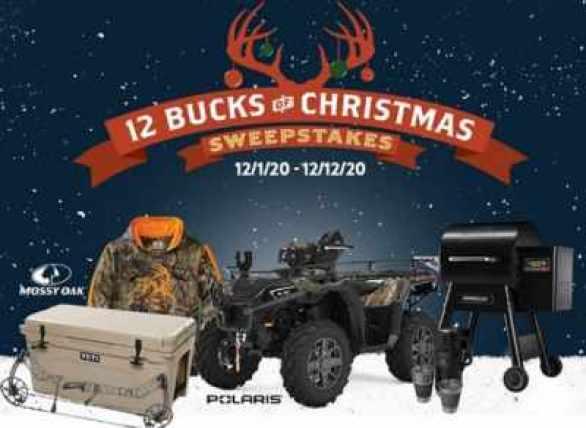 LegendaryWhitetails-12-Bucks-Christmas-Sweepstakes