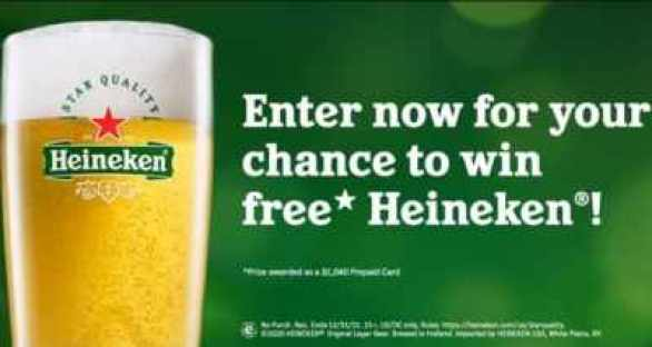 Heineken-Star-Quality-Sweepstakes
