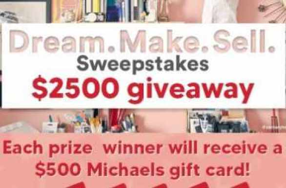 Michaels-Dream-Space-Sweepstakes