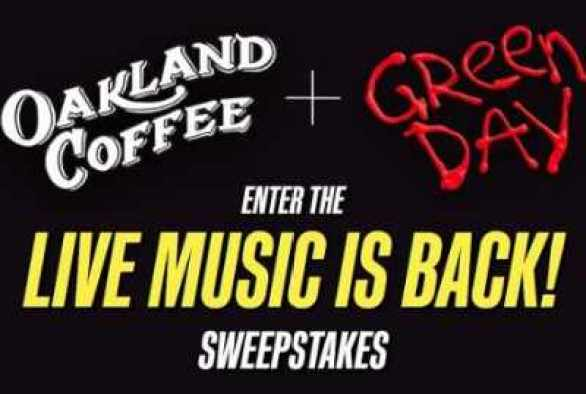 Oakland-Coffee-Green-Day-Sweepstakes