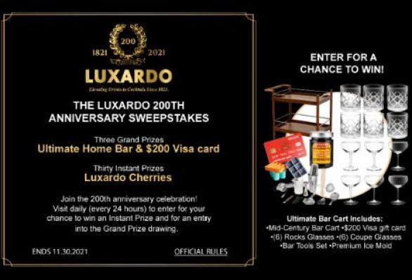 Luxardo200th-Anniversary-Sweepstakes