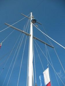 aluminium mast reparatie