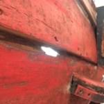 gang vervangen van oude grenen sloep in Amsterdam
