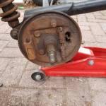 Complete trommels incl lagers vervangen van ellebi boottrailer