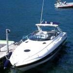 motorboot 11.34 m, x 3.11 m /58  kg Comomeer- antwerpen