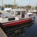 Sleep van 10 meter motorboot van muiderzand naar Andijk