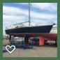 transport zeiljacht 8.60m/2200kg/2m diep