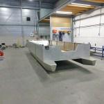 aluminimum ponton 7x3 Dordrecht-Lelystad