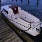Kajuitbootje Almere- Schagen of een stuk op weg helpen.