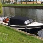 stralen coaten en antifouling sloep 7,5 mtr in of om Amsterdam. onder de waterlijn