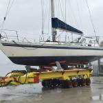 Transport sailing boat from Greece to Denmark 15,45 m 10 ton