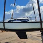 Reparatie bilge bodem zeilboot wing 720