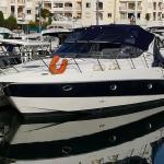 vervoer motorjacht Sessa35 Cannes-Nieuwpoort