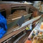 Motor in houten vlet bouwen en vlet iets vertimmeren