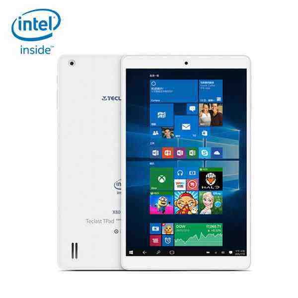 offertehitech-Scatola Teclast X80 Pro 32GB PC Intel Z8350 Quad Core da 8 Pollici Doppio Boot Tablet PC