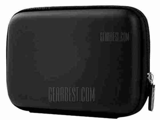 offertehitech-gearbest-HDD Zippered Storage Bag