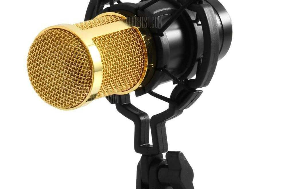 offertehitech-gearbest-BM - 800 Condenser Sound Recording Microphone with Shock Mount