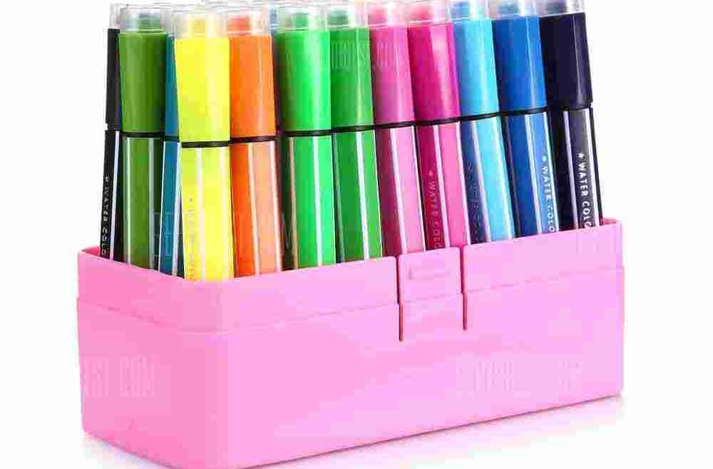offertehitech-gearbest-Deli 70655 36PCS Water Color Pen