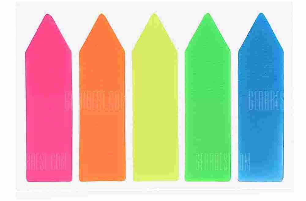 offertehitech-gearbest-Fluorescent Index Sticker