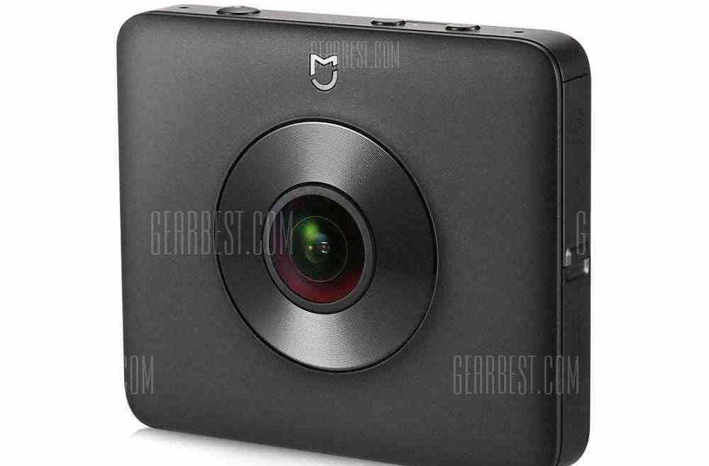 offertehitech-gearbest-Xiaomi Mi Sphere Camera 4K Panorama Action Camera