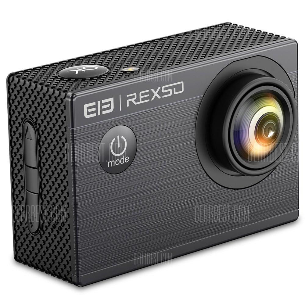 offertehitech-gearbest-Elephone REXSO Explorer X Action Camera 4K 30fps HD