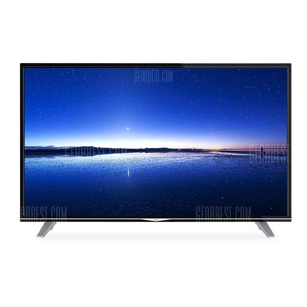 offertehitech-gearbest-Haier U49H7000 49 inch UHD HDR HDMI Smart TV Netflix