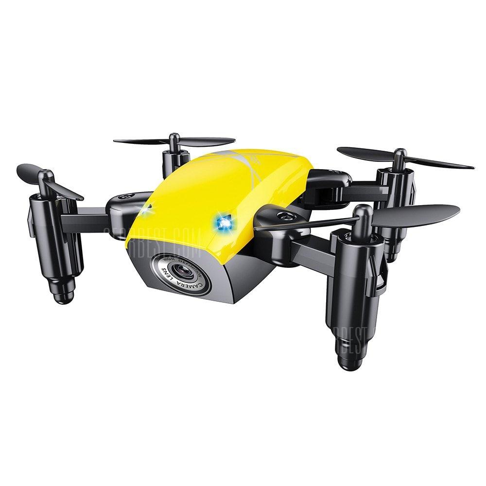 offertehitech-gearbest-S9 Micro Foldable RC Drone - RTF