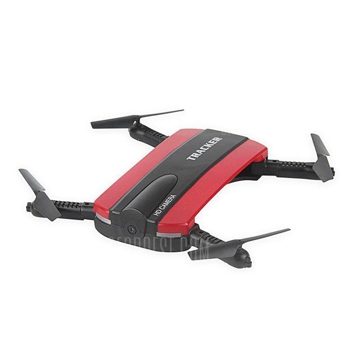 offertehitech-gearbest-JXD 523 Mini Foldable RC Pocket Drone - BNF