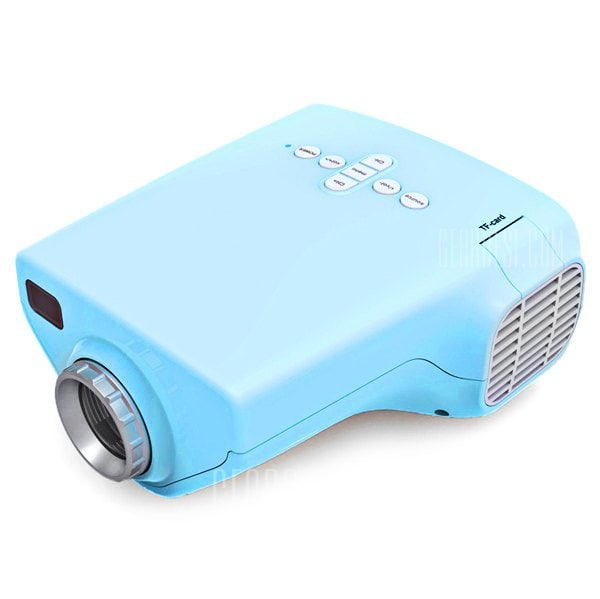 offertehitech-gearbest-Movying E03 50lm LCD Home Mini Size Projector 200:1 Contrast 4:3 Aspect Ratio with AV / USB / VGA / HDMI / TV / SD Card Slot