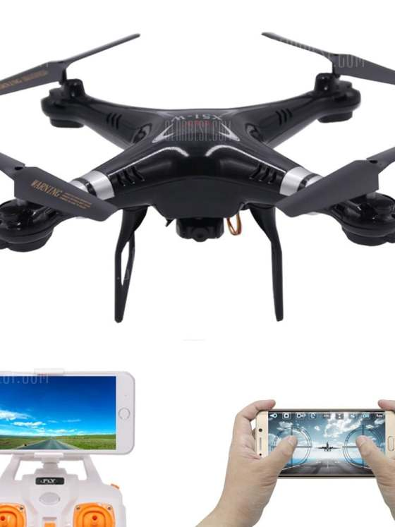 offertehitech-gearbest-RC Drone with WiFi FPV Camera Quadcopter One Key Auto Return Headless Mode