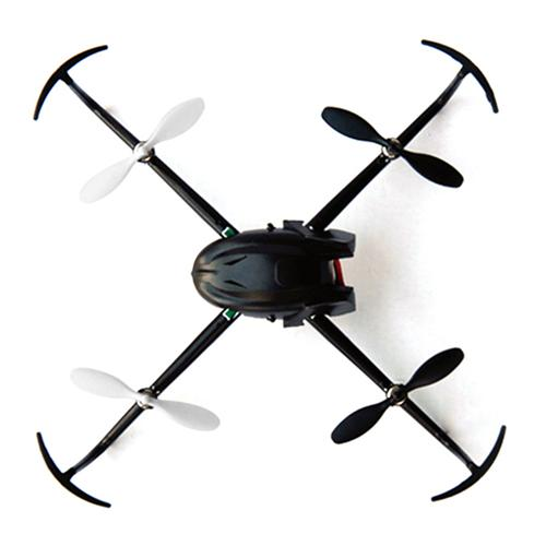 offertehitech-CG023 Mini Drone 2.4G 6 Axis Gryo Headless Mode 3D Rolling 4Way Flip LED RC Quadcopter RTF - Black