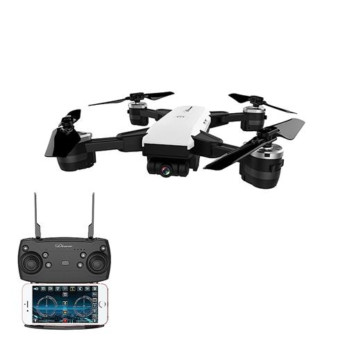 offertehitech-JDRC JD-20 ELVES 720P WIFI FPV Foldable Drone with 120 Degree Wide-angle Lens RC Quadcopter RTF - White