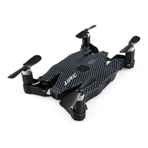 offertehitech-JJRC H49 SOL WIFI FPV Ultrathin Foldable Selfie Drone with 720P Camera Altitude Hold Mode RC Quadcopter RTF - Black
