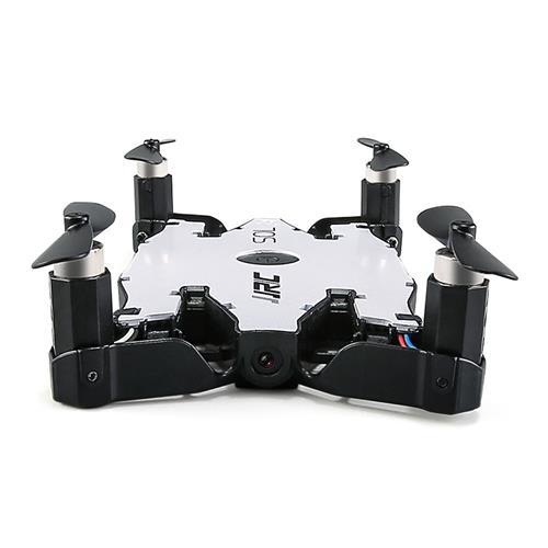 offertehitech-JJRC H49 SOL WIFI FPV Ultrathin Foldable Selfie Drone with 720P Camera Altitude Hold Mode RC Quadcopter RTF - White