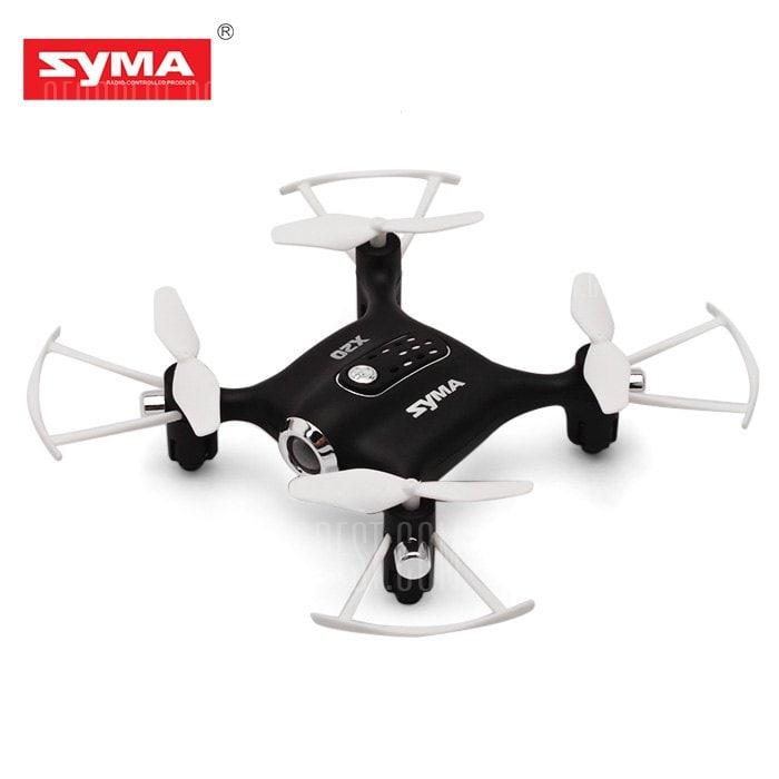 offertehitech-gearbest-SYMA X20 Mini RC Pocket Drone - RTF