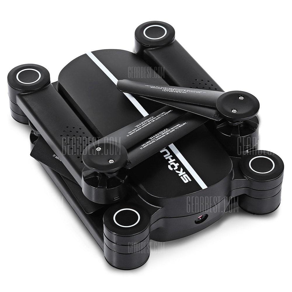offertehitech-gearbest-FLYSTER X8TW SKYHUNTER Foldable RC Pocket Drone - RTF