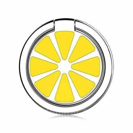 offertehitech-gearbest-Lemon Pattern Round Shape Ring Holder for Cell Phone