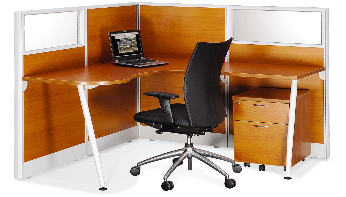 Wooden Partition  Office partition panel in wood colour