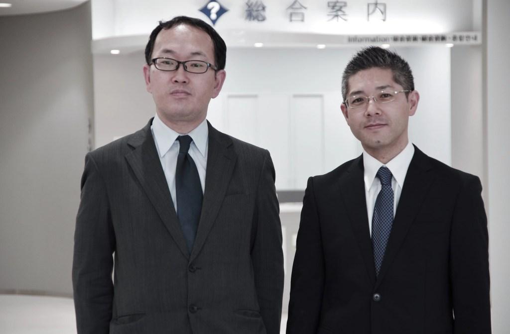 司法書士今健一と司法書士齋藤遊の公式写真