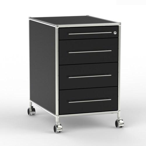 Rollcontainer TR60 inox schwarz