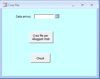 Office Online - Database Alloggiati Web