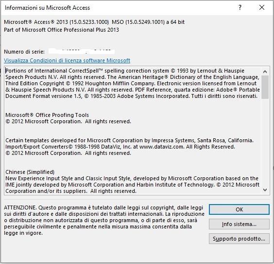 Office online - conoscere la versione Access 2013