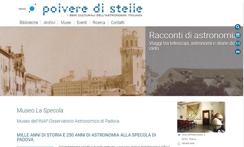 Office online -sito La Specola