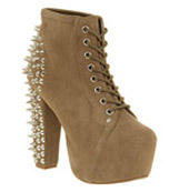 Jeffrey campbell Lita platform ankle boot Spike taupe
