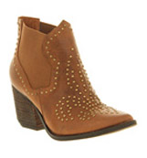 Jeffrey campbell Bourbon ankle boot Tan leather