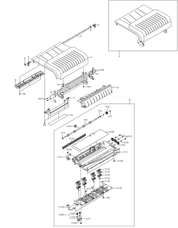 Yale Panic Bar Parts Diagram